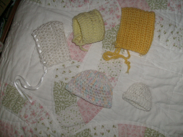 doll hats & bonnets