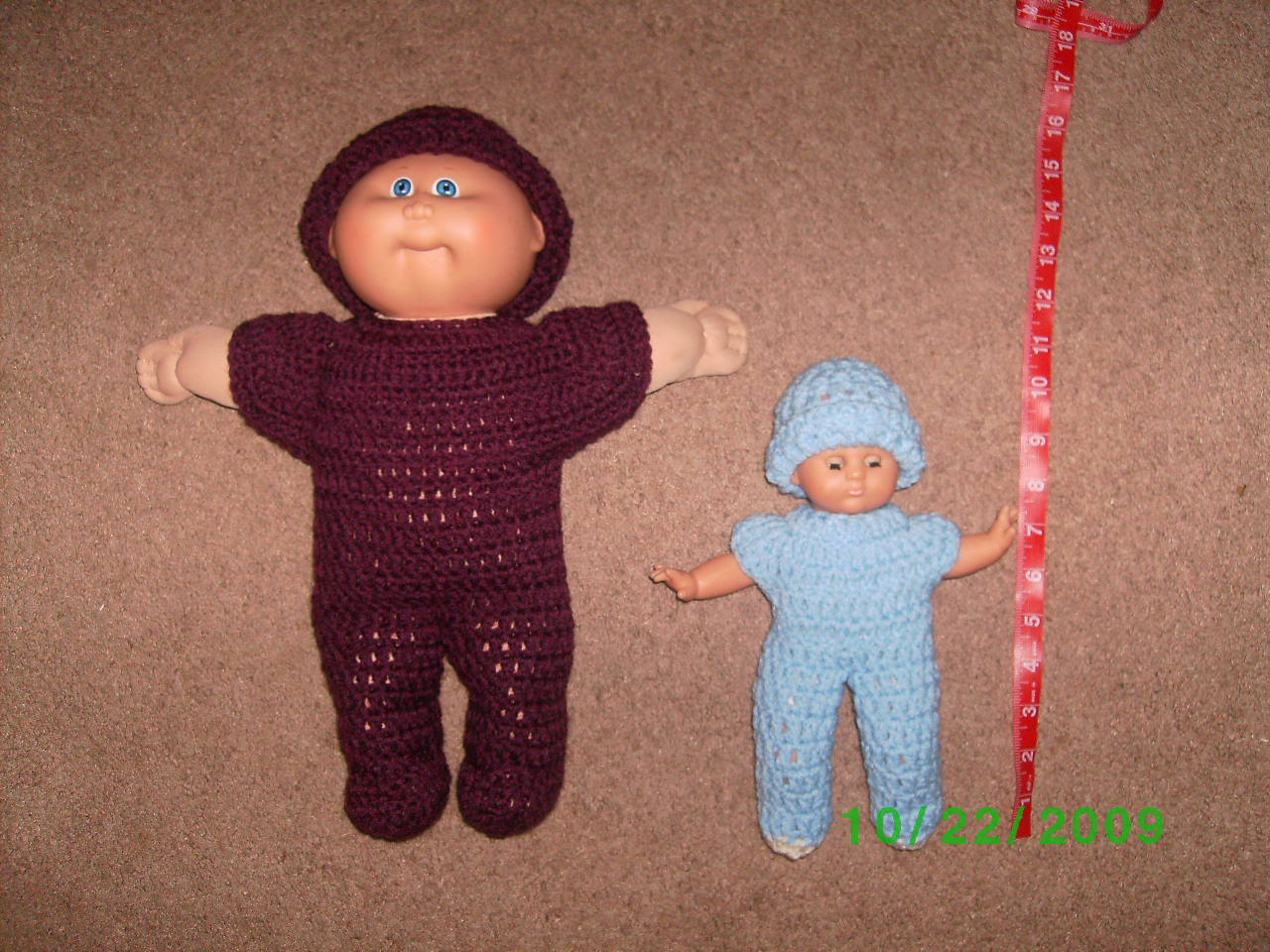 Cabbage Patch Sleeper & Tiny doll sleeper
